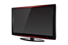 Tv lcd illustration Stock Photos