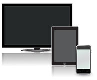 Tv, lcd, tablet, phone Royalty Free Stock Image