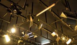 Tv lights reflector Royalty Free Stock Photos