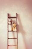 Två lilla Teddy Bears Royaltyfria Bilder