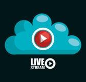 TV live stream Stock Photos