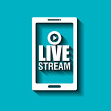 TV live stream Royalty Free Stock Photography