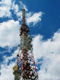Tv mast Royalty Free Stock Images