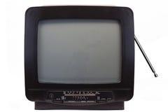 TV met Ontvanger van de jaren '90 Stock Foto