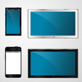 Tv and mobile for design Royalty Free Stock Photos