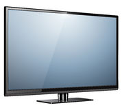 TV modern isolated Stock Photography