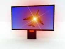 TV moderne 404 Photographie stock