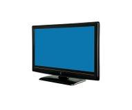 Tv monitor. On white background Stock Images