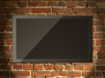 Tv monitor Royalty Free Stock Images