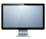 Tv monitor Royalty Free Stock Photos