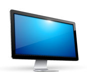Tv monitor Royalty Free Stock Photos