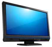 Tv monitor Stock Image