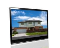 Tv monitor royalty free stock photography