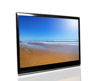 Tv monitor Stock Image