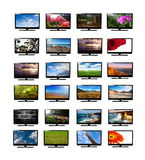 Tv monitors Royalty Free Stock Photo