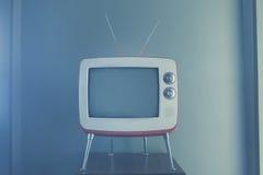 TV nella stanza Fotografia Stock Libera da Diritti