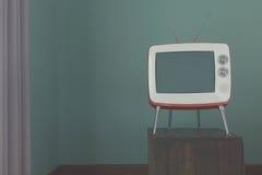 TV nella stanza Fotografie Stock