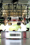 TV news studio setup - television interior royalty free stock photography