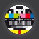 Tv no signal Stock Photography