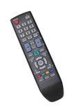 TV noire à télécommande Photographie stock