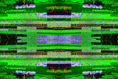 TV noise bad signal dbvt signal Digital Video Broadcasting royalty free stock photo