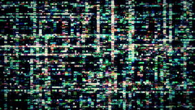 TV Noise 0847 Stock Photography