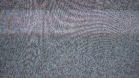 Tv noise interference bad signal screen television royalty free stock images