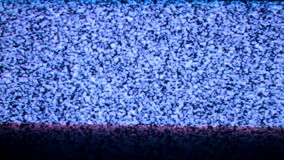 TV noise loop. Crazy TV noise Test Pattern VJ loop stock video