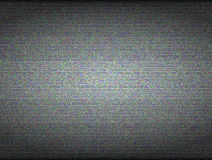 TV noise seamless vector texture. No signal and Royalty Free Stock Image