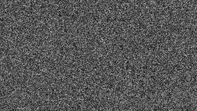 TV noise stock footage