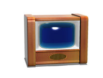 The TV old Stock Photo