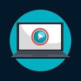 tv online design Stock Photo