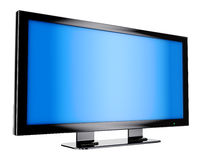 Tv panel. Lcd tv panel on the white background Royalty Free Stock Photography