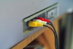 TV par câble Images libres de droits