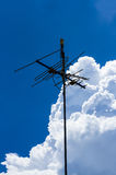 TV par câble vieux type Images libres de droits