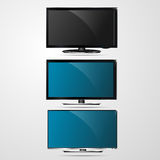 TV para el trabajo del vector del diseño Ilustración del Vector