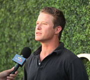 TV personality Billy Bush attends US Open 2016 semifinal match at USTA Billie Jean King National Tennis Center in New York. NEW YORK - SEPTEMBER 8, 2016: TV Stock Photos