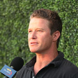 TV personality Billy Bush attends US Open 2016 semifinal match at USTA Billie Jean King National Tennis Center in New York Royalty Free Stock Photos
