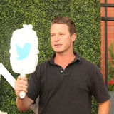 TV personality Billy Bush attends US Open 2016 semifinal match at USTA Billie Jean King National Tennis Center in New York Royalty Free Stock Photography
