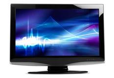 TV piana Immagine Stock