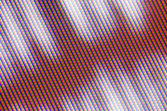 TV pixel patern. Pixel patterns from an old CRT television royalty free stock image