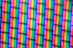TV pixels - extra macro Royalty Free Stock Photo