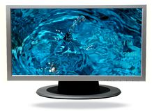 TV-plasma Photo stock