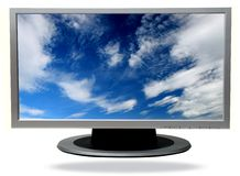 Tv-plasma Royalty Free Stock Images