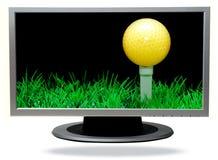 TV-plasma Imágenes de archivo libres de regalías