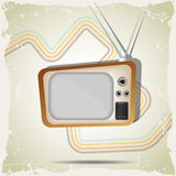 Tv poster Royalty Free Stock Photos