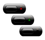 TV Power Buttons Royalty Free Stock Image