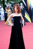 TV presenter Anna Chapman at Moscow Film Festival Stock Photo