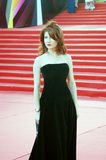 TV presenter Anna Chapman at Moscow Film Festival Royalty Free Stock Photo