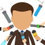 tv presenter. Stock Images